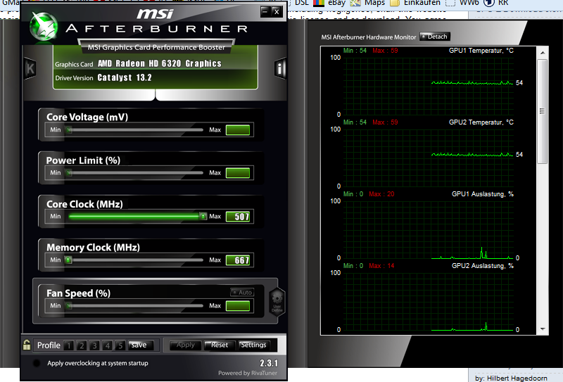 msi afterburner 2.3.1